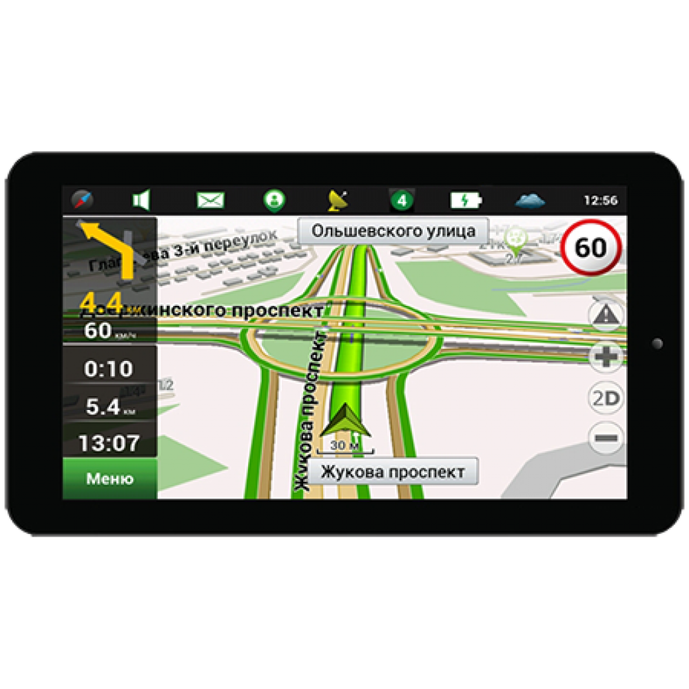 GPS навигатор GEOFOX MID720GPS IPS Ver.4