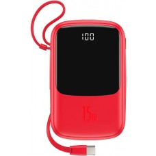 Baseus Qpow Digital Display 3A Power Bank 10000mAh PPQD-A09 Red