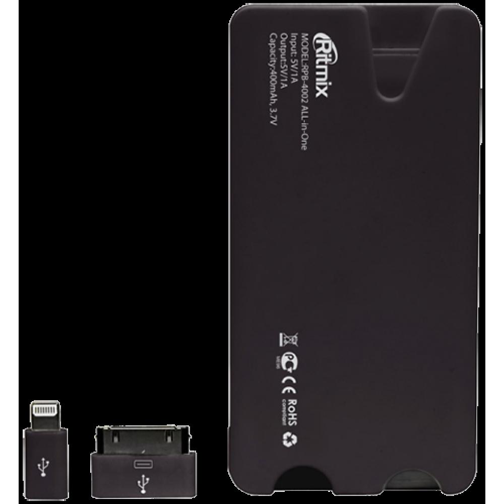 Портативное зарядное устройство Ritmix RPB-4002 All-in-One