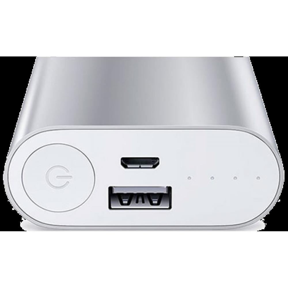 Внешний аккумулятор Xiaomi Mi Power Bank 5000mAh Silver