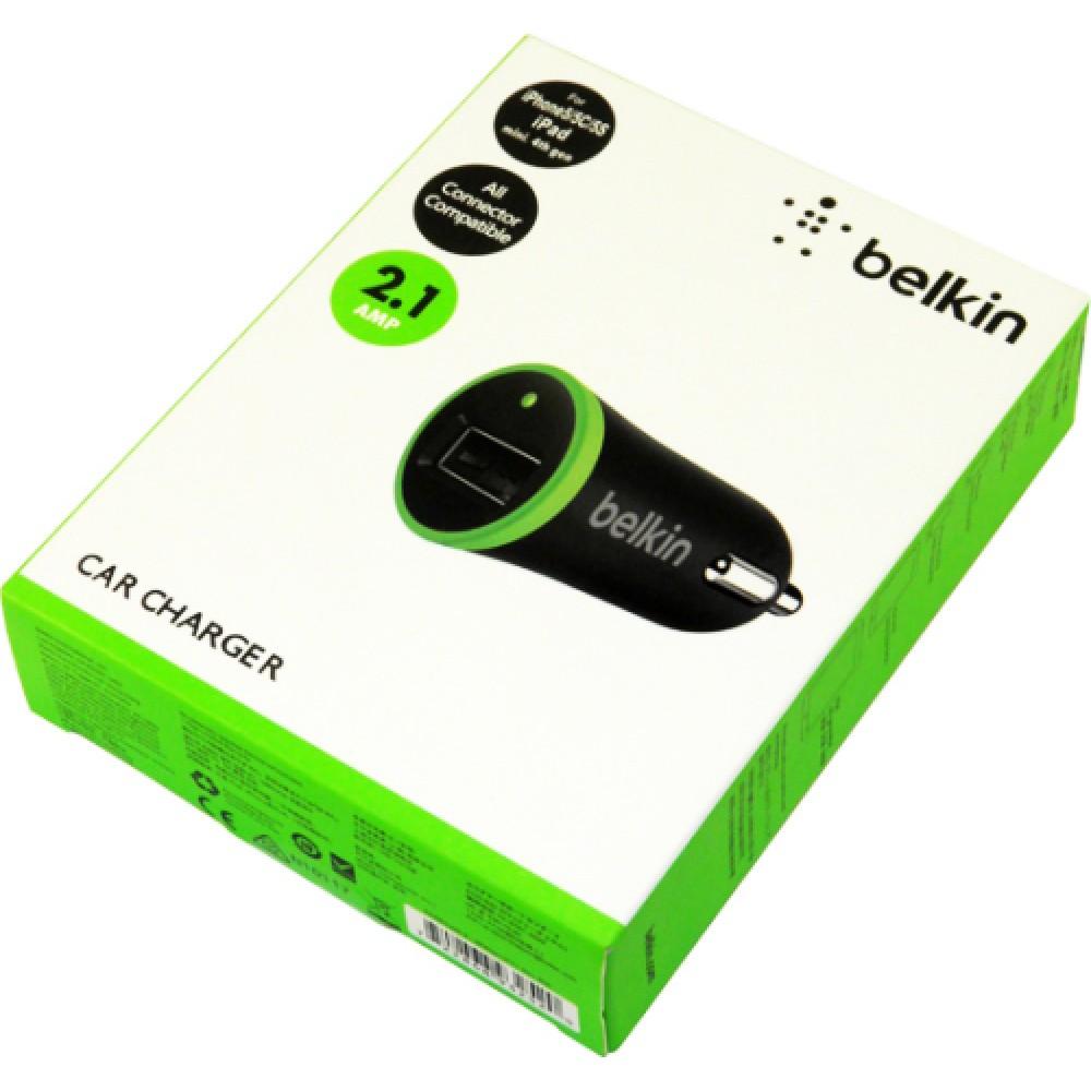 Автомобильная зарядка Belkin car charger