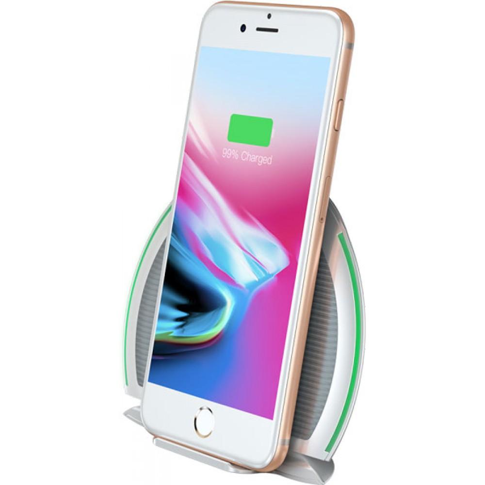 Беспроводное зарядное устройство для телефона Baseus WXZD-02 серого цвета
