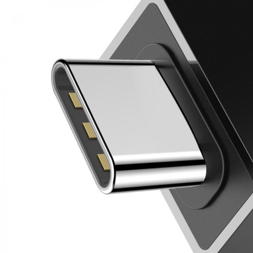 Адаптер Baseus Exquisite Type-C Male to USB Female Adapter Converter