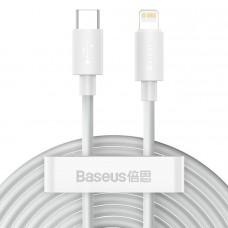 Кабель Baseus Simple Wisdom Data Cable Kit Type-C to iP PD 20W