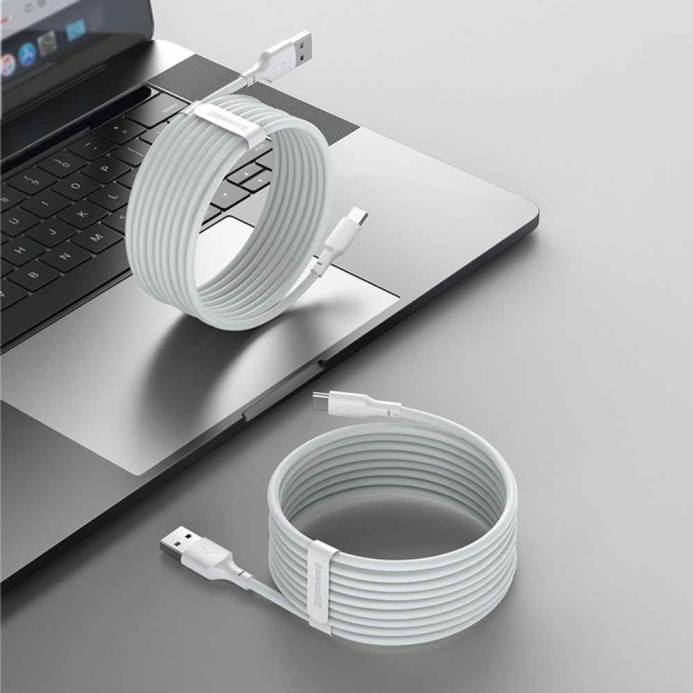 Кабель Baseus Simple Wisdom Data Cable Kit USB to Type-C 5A
