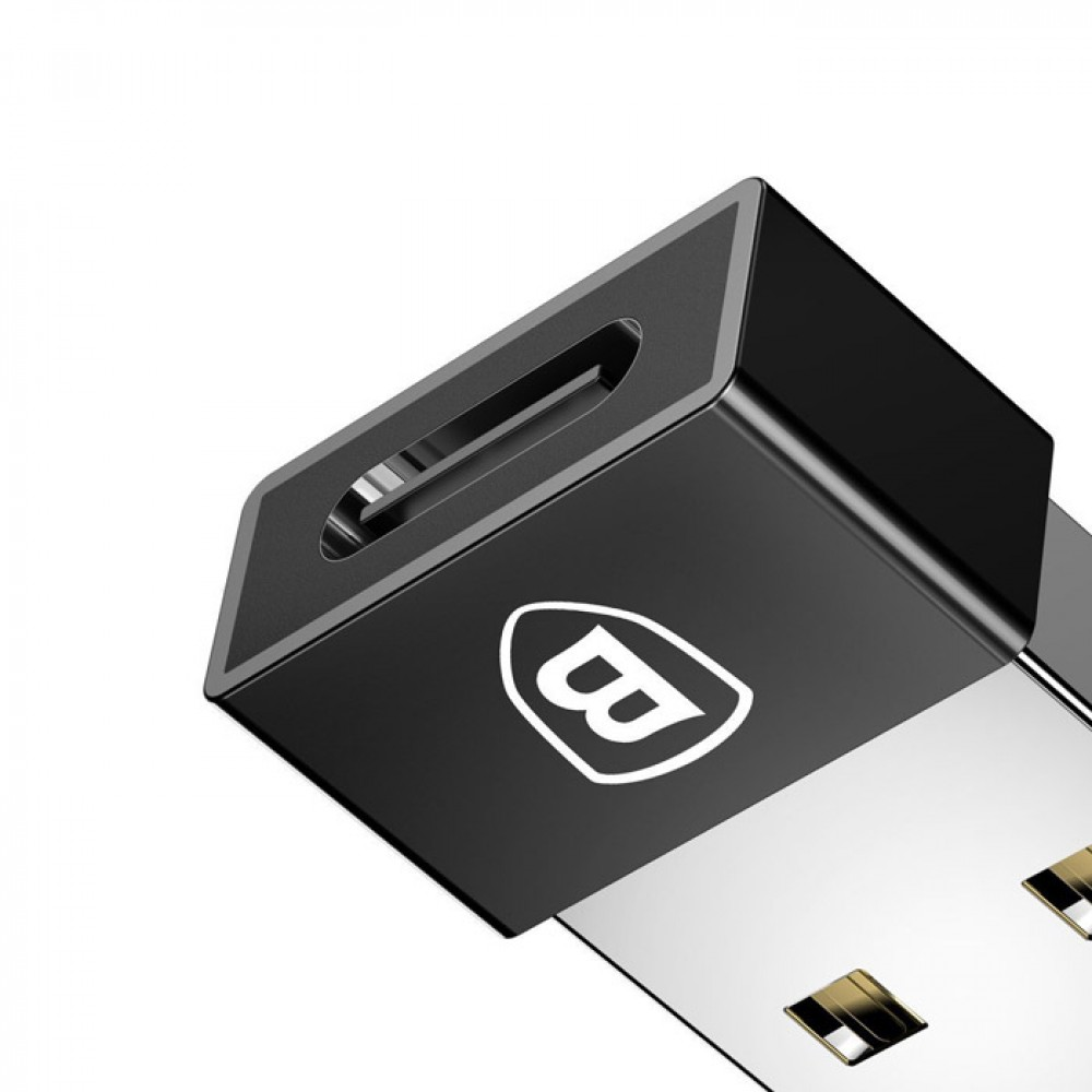 Адаптер Exquisite USB Male to Type-C Female Adapter Converter