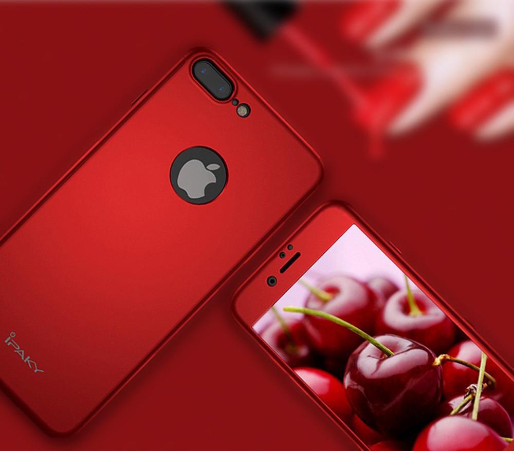 Чехол на iPhone 8 Plus красный