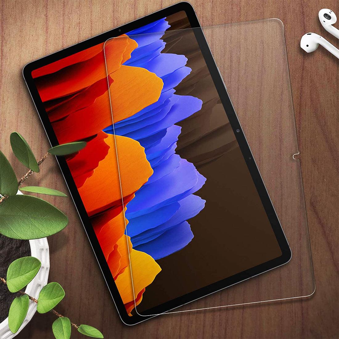 Стекло для Samsung Galaxy Tab S7 Plus 12.4 SM-T970 / SM-T975 / SM-T976 закаленное