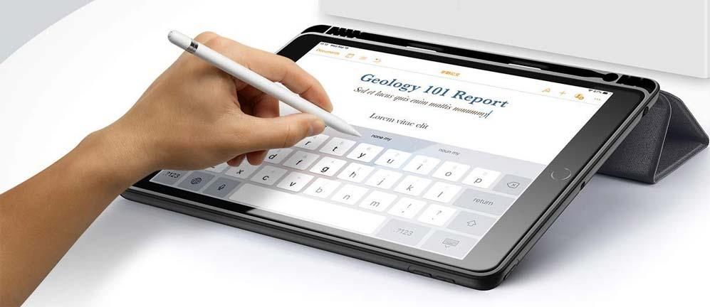 Чехол для iPad 10.2 2019 с креплением для стилуса
