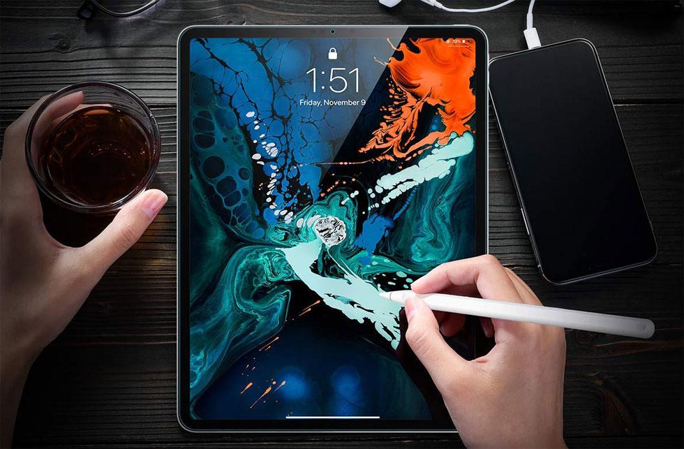 Защитное стекло на Стекло для Apple iPad Pro 12.9 2018