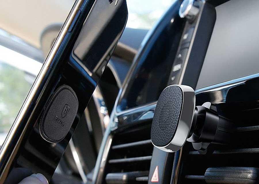 Автомобильный держатель Baseus Privity Series Pro Air outlet Magnet Bracket SUMQ-PR01 магнитный