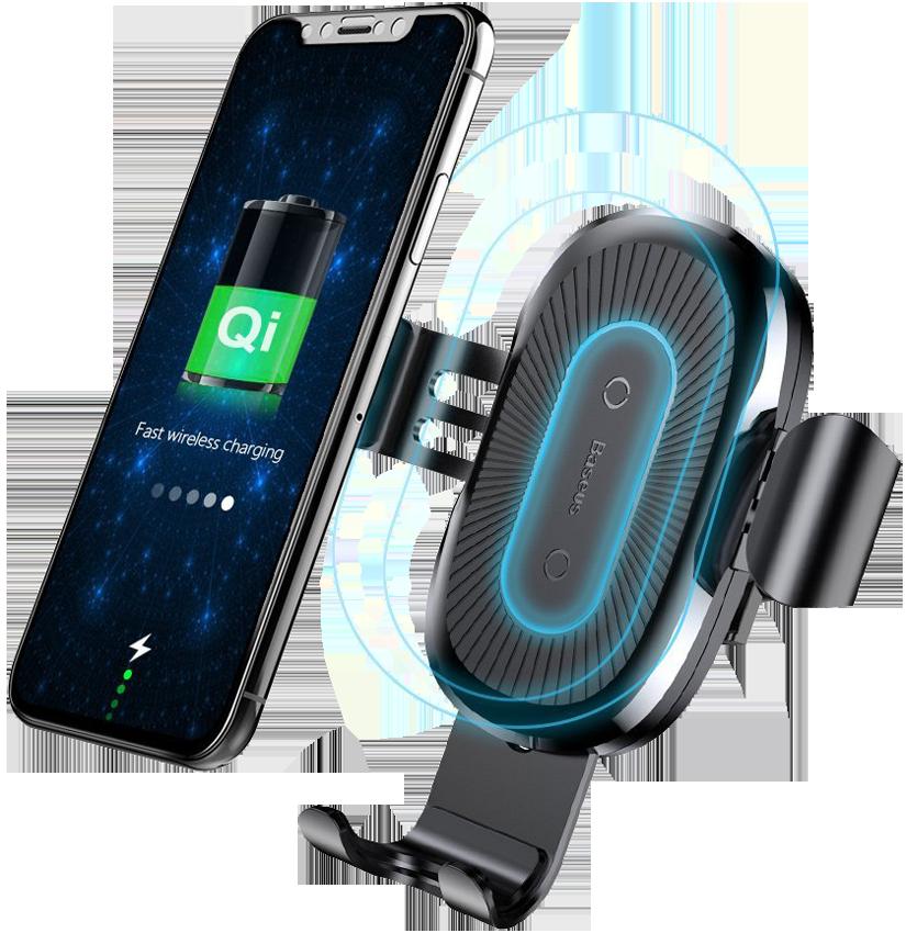 Baseus Donut Wireless Charger Black WXTTQ-01
