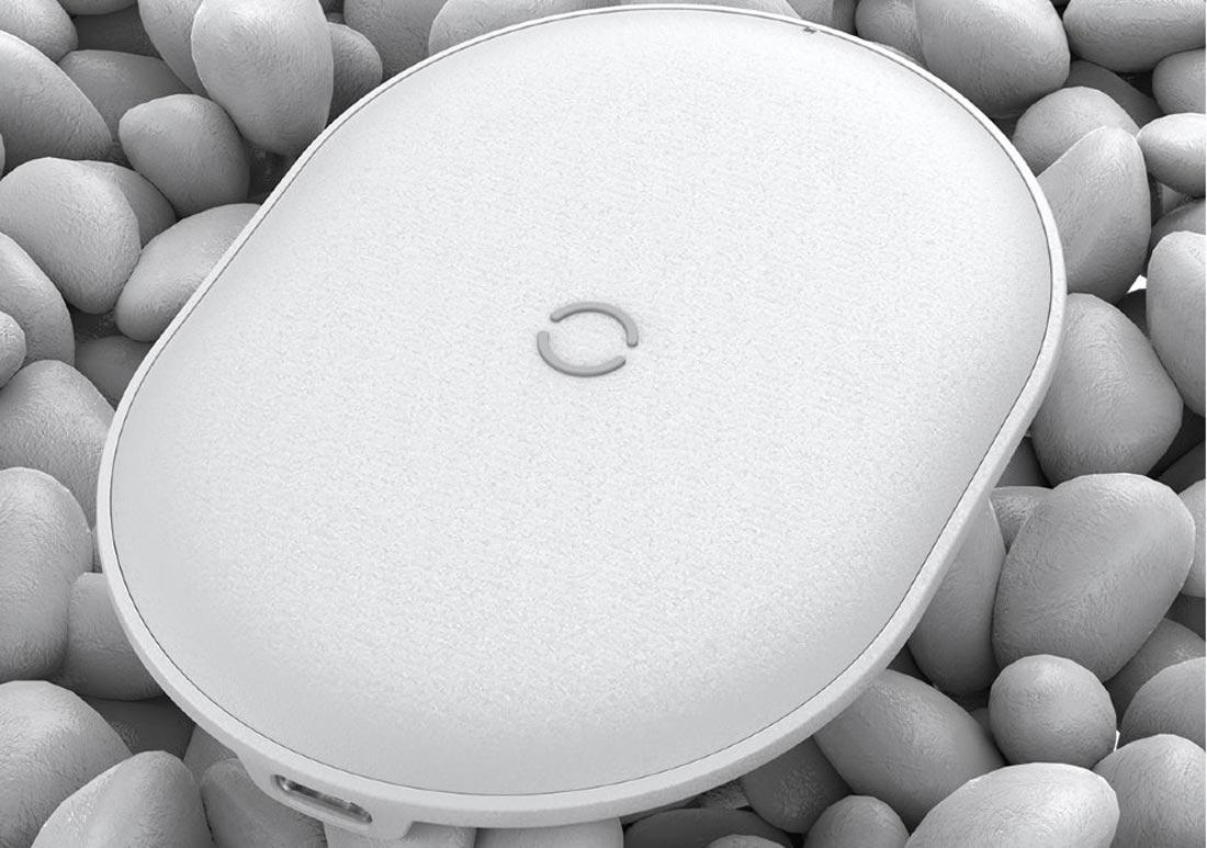 Беспроводная зарядка Baseus Cobble Wireless Charger 15W WXYS-02